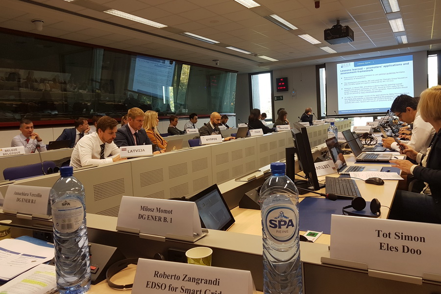 We were invited to the first meeting of the TEN-E Thematic Group for Smart Grids
