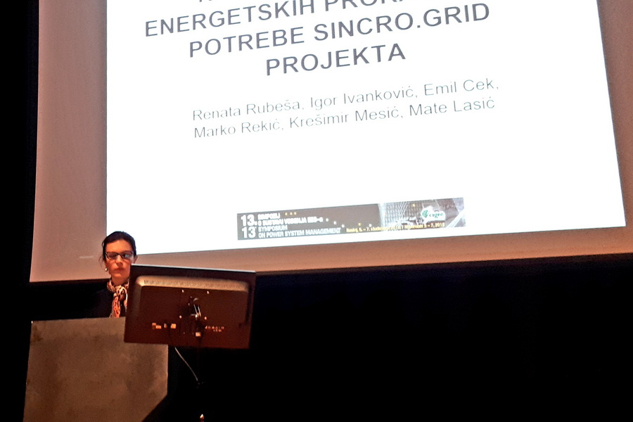 SINCRO.GRID presented at 13th Symposium on Power System Management