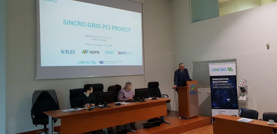 Presentation of the project at E.DSO for Smart Grids Project Committee