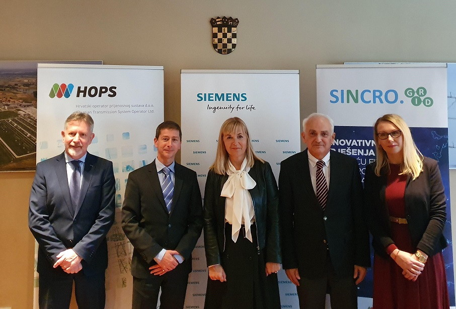 "HOPS and SIEMENS signed the contract ""Installation of SVC device in substation Konjsko"""