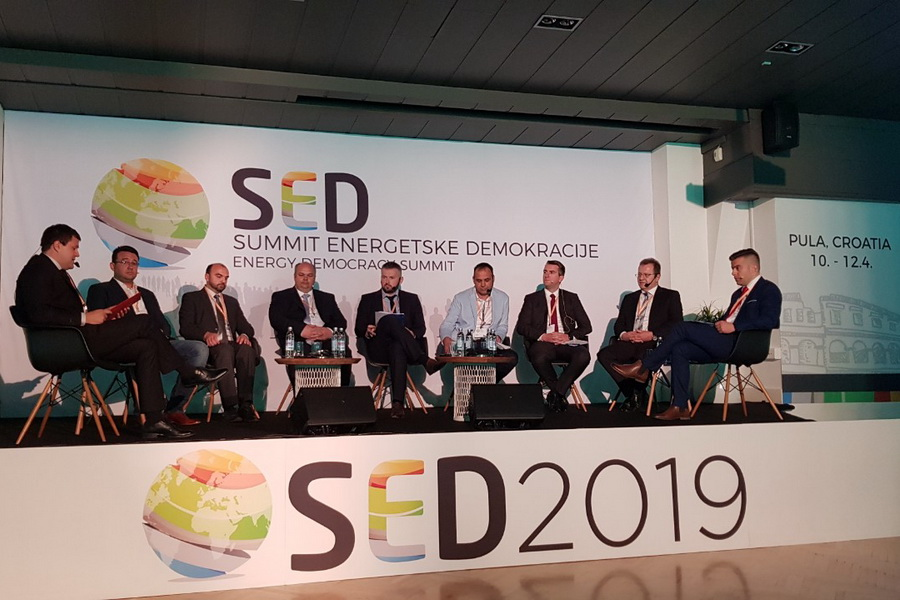 The coordinator of the SINCRO.GRID participated at the SED 2019